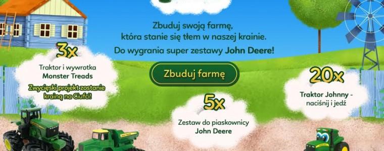 Konkurs John Deere Zbuduj Farmę