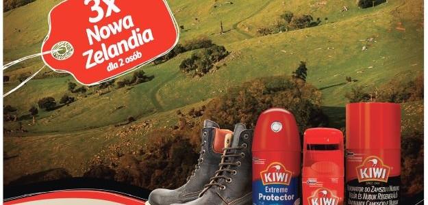 """Chroń buty i wygraj wycieczkę do Nowej Zelandii w loterii """"Przejdź przez świat z KIWI®"""""""