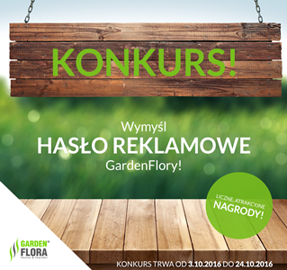 Hasło reklamowe GardenFlory