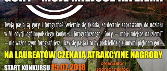 """Góry – moje miejsce na ziemi"" edycja VI"