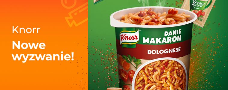 Knorr – posiłki gotowe do działania!