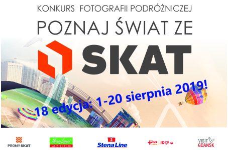 """18 Edycja Konkursu Fotografii podrózniczej ,, Poznaj Świat ze SKAT"""""""