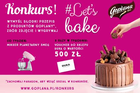 Goplana Let's Bake!