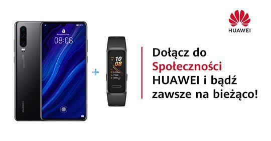 """Konkurs """"Zaproś znajomych do Społeczności Huawei!"""
